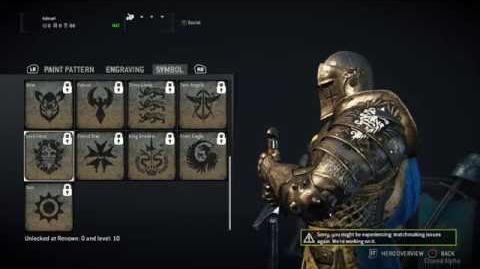 Pinkachu Plays For Honor Closed Alpha - Knight Customization