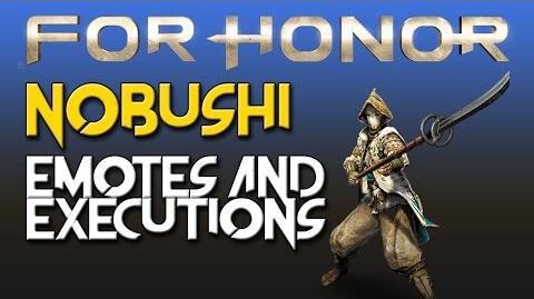 For Honor - Nobushi - Emotes & Executions