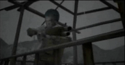Akira preparing to save Yoriko