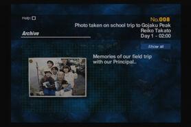 008 - Photo Taken On School Trip to Gojaku Peak