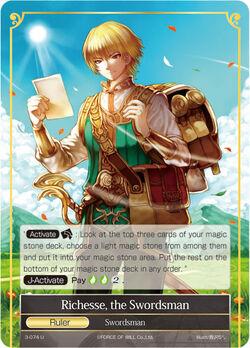 Richesse, the Swordsman