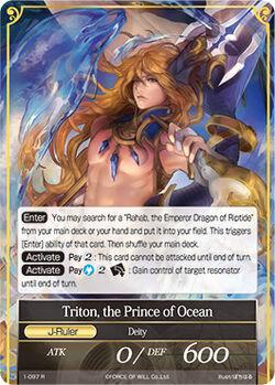 Triton, the Prince of Ocean