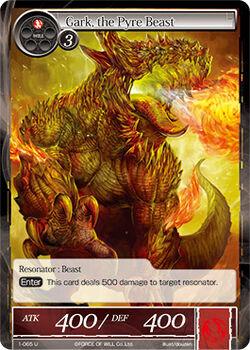 Gark, the Pyre Beast