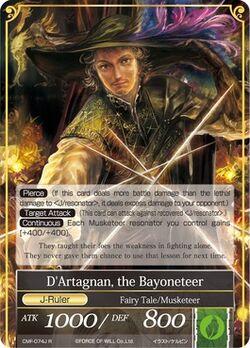 D'Artgnan, the Bayoneteer