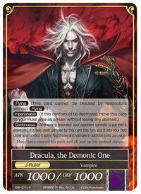 Dracula, the Demonic One