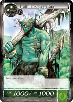 Troll, the Raging Giant