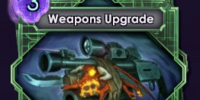 Weapons Upgrade