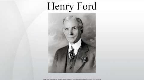 Henry Ford - Wiki Article-0