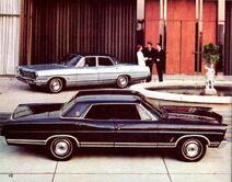 1967 Ford LTD 4-Door Hardtop & 4-Door Sedan