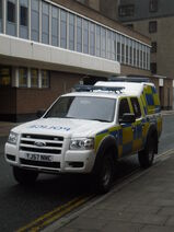 North Yorkshire Police FORD RANGER YJ57 NNC