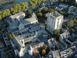 Chateau Beaugency ballon