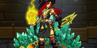 Sorceress Morgana The Raven
