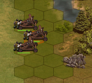 Cannons in a group