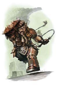Battlerager fighter - Brian Hagan