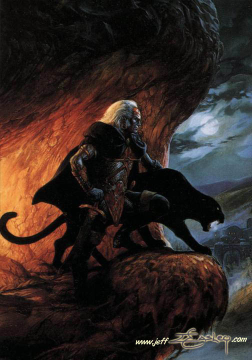 File:Drizzt Do'Urden - Sojourn - Jeff Easley.jpg