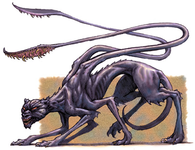 File:Monster manual 35 - Displacer Beast - p67 - Sam wood.jpg
