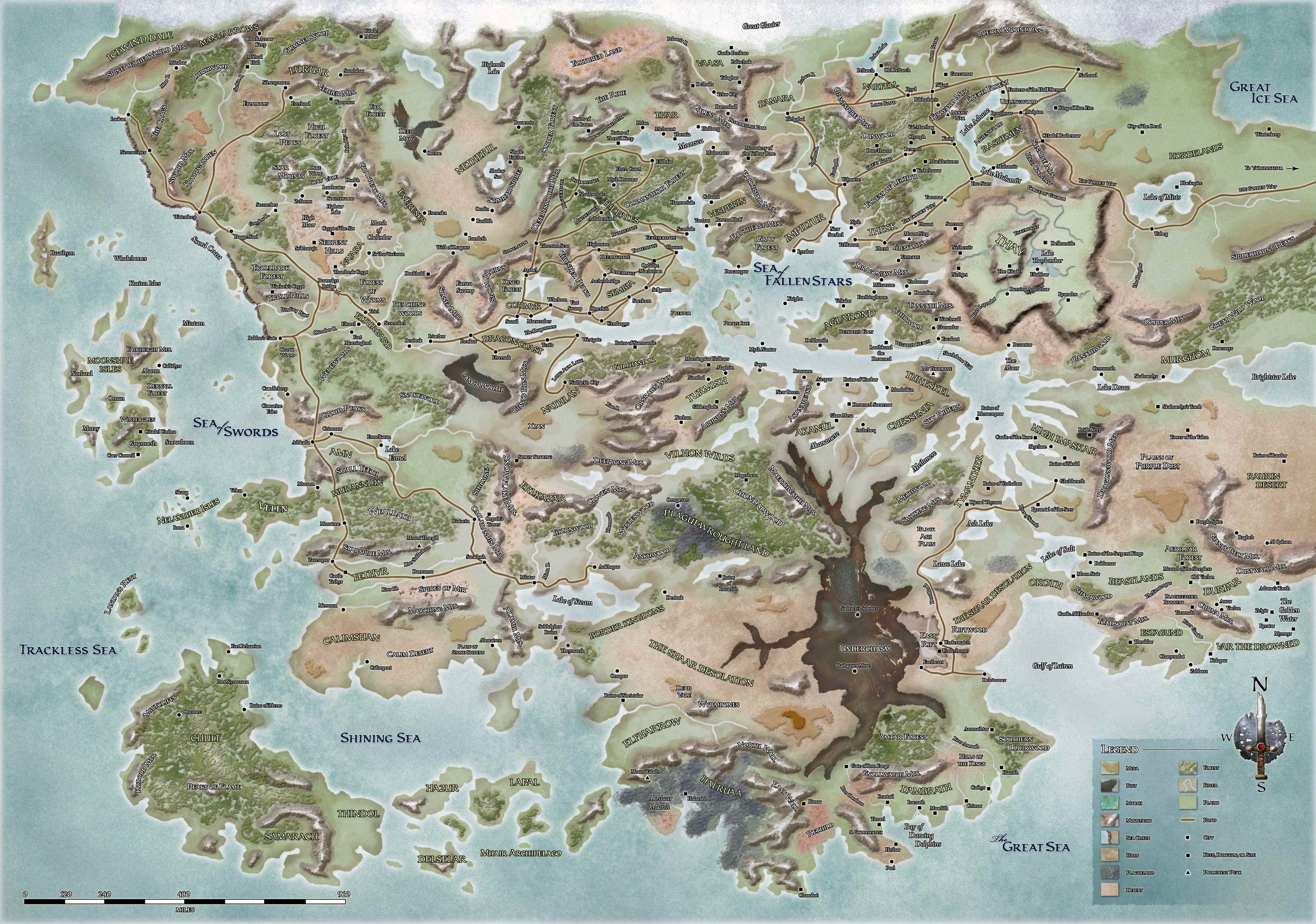Faerûn | Forgotten Realms Wiki | FANDOM powered by Wikia