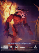Dragon Magazine 297 - Neverwinter Nights Promotion p19