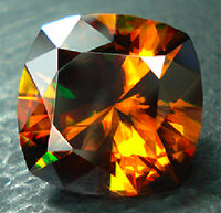 Sphene-faceted-darkorange
