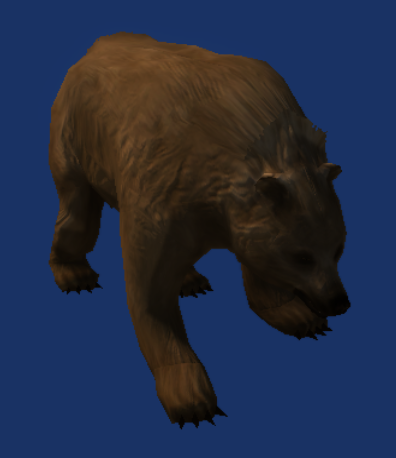 File:Neverwinter Nights 2 - Creatures - Brown Bear.png