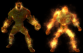 Neverwinter MMO - Creature - Fire Elemental (And Lesser)