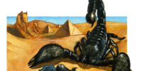 Monstrous scorpion