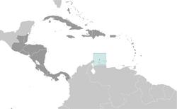 Location of Aruba