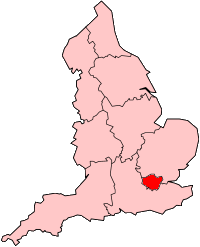 Map of Greater London