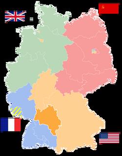 Map of Württemberg-Baden