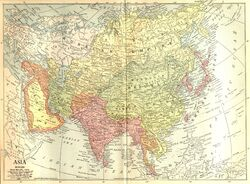 Map of China 1914