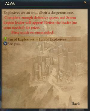 QuestFanofExplosivesFinishQuestNobb