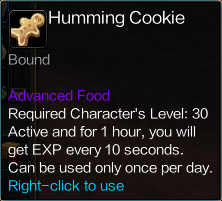 ItemHummingCookieDescription