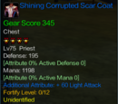 Shining Corrupted Scar Coat
