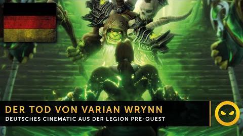 Legion In-Game-Cinematic Der Fall eines großen Helden DE