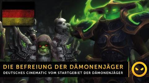 Legion In-Game-Cinematic Die Befreiung der Dämonenjäger DE