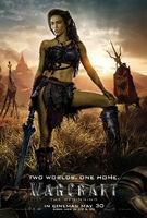 Warcraft Garona UK 1 Sheet
