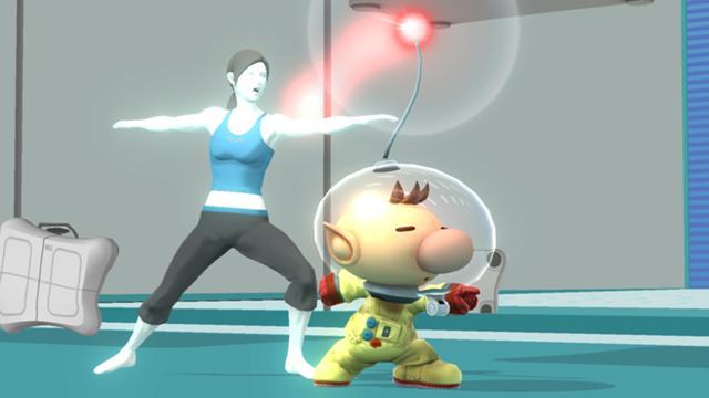 File:SSMB WiiU - Olimar Trainer Screenshot.jpg