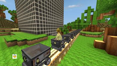 Fortresscraft Minecart