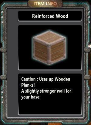 Reinforced Wood