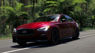 Q50 Eau Rogue in Forza Horizon 3