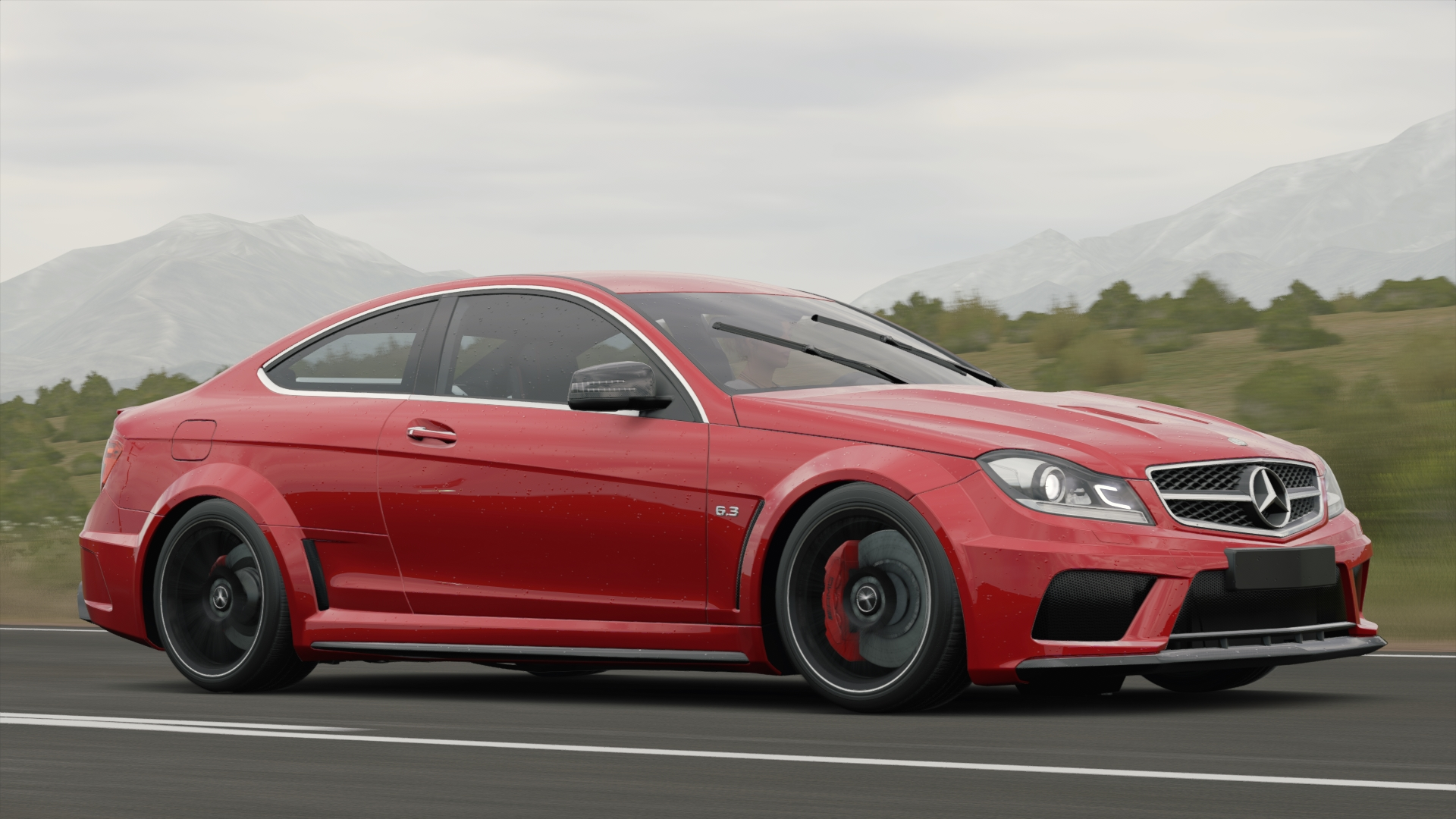 Mercedes Benz C 63 Amg Coup 233 Black Series Forza