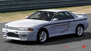 Nissan Mine's R32 Skyline GT-R in Forza Motorsport 4