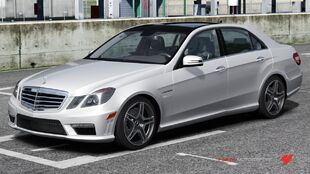 Mercedes-Benz E 63 AMG in Forza Motorsport 3