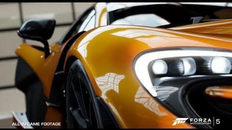 Forza Motorsport 5 E3 Forzavista Demo