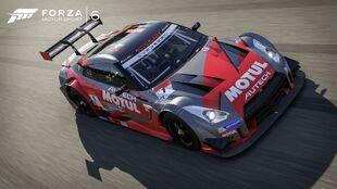 The Nissan #1 Nismo Motul Autech GT-R in Forza Motorsport 6