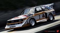 1986 Audi 2 Audi Sport quattro S1
