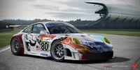 2007 80 Flying Lizard 911 GT3-RSR
