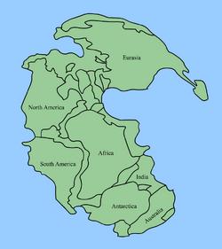 Pangaea continents