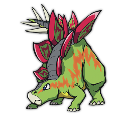 Stego (DS) | Fossil Fighters Wiki | FANDOM powered by Wikia
