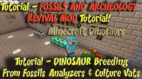 Fossils and Archeology Revival Mod Tutorial Fossils Analyzer Culture Vat Dino Breeding-0